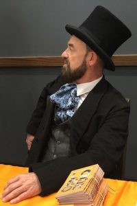 Isambard Kingdom Brunel [in costume]